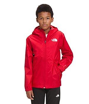 The North Face Boys Zipline Rain Jacket TNF Red M