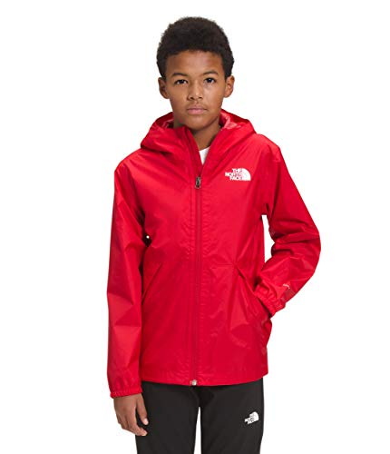 The North Face Boys' Zipline Rain Jacket, TNF Red, L