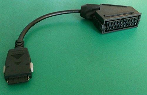 Adaptador euroconector para TV LED Samsung, conector Samsung AV – Enchufe euroconector – Longitud del cable 20 cm