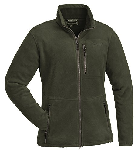 Pinewood Damen Finnveden Fleece Jacke, Grün, XL