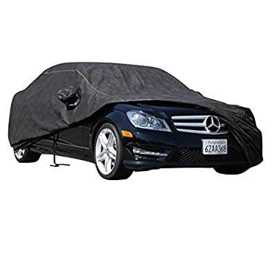 XtremeCoverPro 100% Breathable Car Cover for Select Ford Focus Sedan Coupe 2005 2006 2007 2008 2009 2010 2011 2012 2013 2014 2015