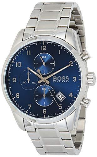 Hugo Boss Quarz Uhr mit Edelstahl Armband 1513784