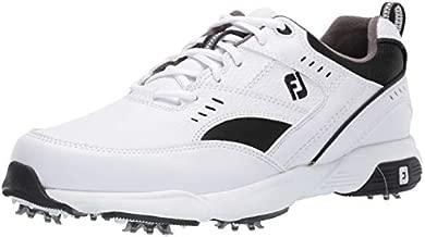 FootJoy Men's Sneaker Golf Shoes, White, 10.5 W US