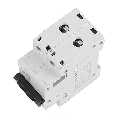 Interruptor de energía solar en miniatura con montaje en carril DIN de 1 pieza para sistema híbrido solar(16A)
