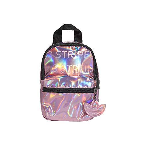 adidas GN2128 BP MINI PU Sports backpack womens hazy rose NS
