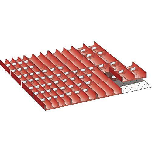 Lista 100.319.000 Einteilungsmaterial Muldensatz x 36E für Fronthöhe 50-200 mm