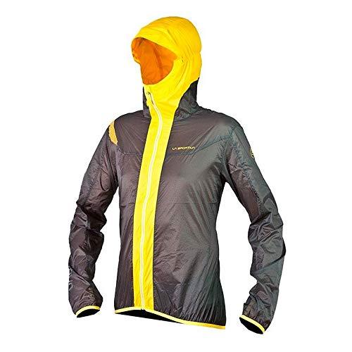 La Sportiva Soft shell Oxygen Evo Windbreaker Grey / Yellow M