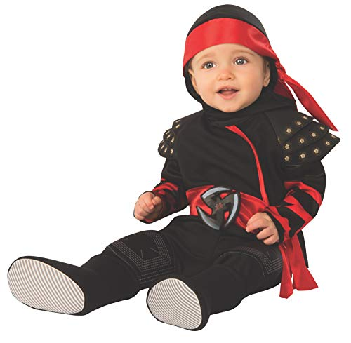 Rubie's Kid's Opus Collection Lil Cuties Ninja Baby Costume Baby Costume, As Shown, Infant
