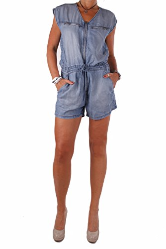 Diesel Damen Jeans Overall Jumpsuit DE-VENIA Tuta Blau (L)