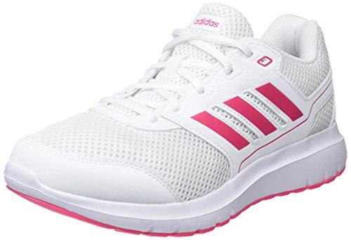 adidas Damen Duramo Lite 2.0 Laufschuhe, Weiß (Footwear White/Real Pink), 37 1/3 EU