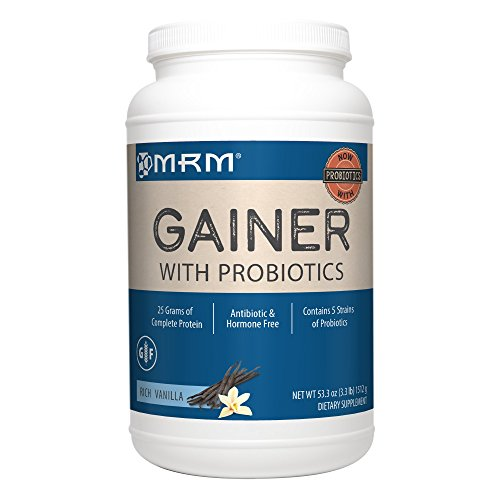 MRM All Natural Gainer - Vanilla - 3.3 lbs