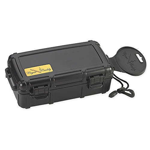 Cigar Caddy 3240 Travel Cigar Humidor, Holds...