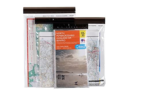 Lifeventure DriStore LocTop Bags-for Maps Sac étanche Unisex-Adult, Transparent