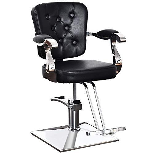 BarberPub Classic Hydraulic Barber Chair Hair Spa Salon Styling Beauty Equipment 2069