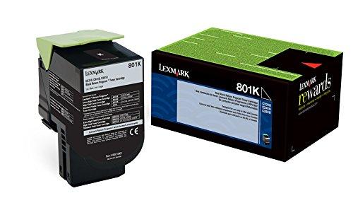 Lexmark 80C10K0 Black Return Program Toner