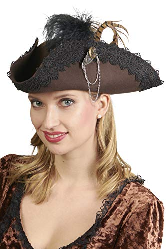 Sombrero de pirata estilo Steampunk.