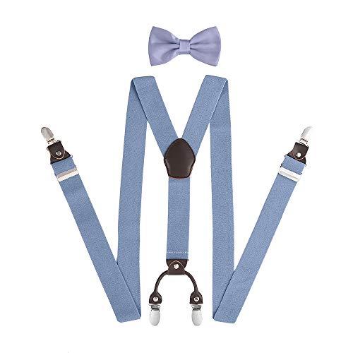 KANGDAI Man Braces Mode réglable et de haute qualité Connecteur en cuir avec Y Back Nouveau style Bracelet élastique à tricoter haute densité et durable