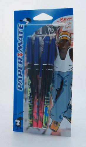 Papermate bolígrafo Hip Hop color azul