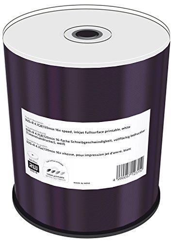 MediaRange MR414 DVD+R 4,7GB (16x Speed, bedruckbar, 100 Stück)