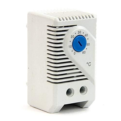 powergreen RAC-00011-TEA Termostato Analógico para Controlar La Temperatura del Armario Rack