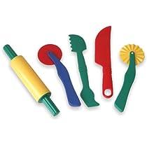 Miniland-Set-de-Accesorios-para-Pasta-Blanda-de-22-cm-modelar-Multicolor-95251