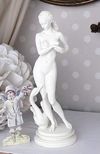 Mythologische Skulptur Leda & Schwan Figur Klassische Antike IS243 Palazzo Exklusiv