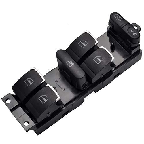 MEI Master - Interruptor de control de ventana para VW 99-04 GTI Golf 4 Jetta MK4 BORA BEETLE Passat B5 B5.5 3BD 959 857 La instalación es simple y el modelo es adecuado