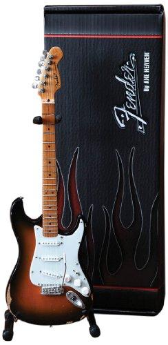 Axe Heaven FS-001 Fender Stratocaster Classic Sunburst Finish Miniatur Gitarre