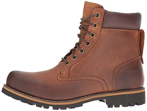 Timberland Men's Earthkeepers Rugged Hiking Shoe, Red Brown, 10.5