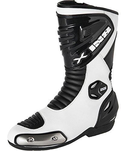 IXS Stiefel Sepang, Farbe weiss-schwarz, Größe 43