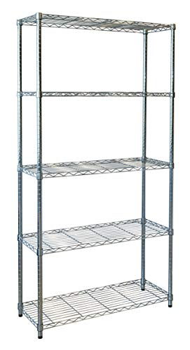 Kit Closet Estantería Stylo 10001, Metal, 180 X 90 X 35