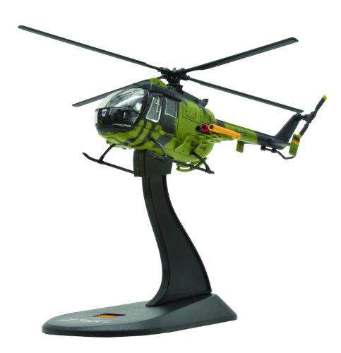 Messerschmitt-Bolkow-Blohm Bo 105 diecast 1:72 helicopter model (Amercom HY-45)