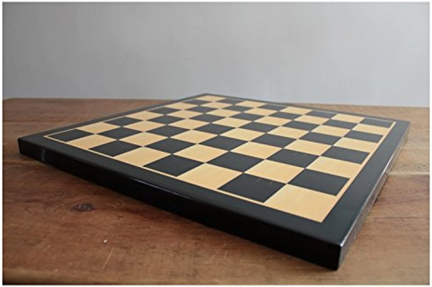 Ebony Board Squares 21 x 21 inch with 2.25 inch Squares