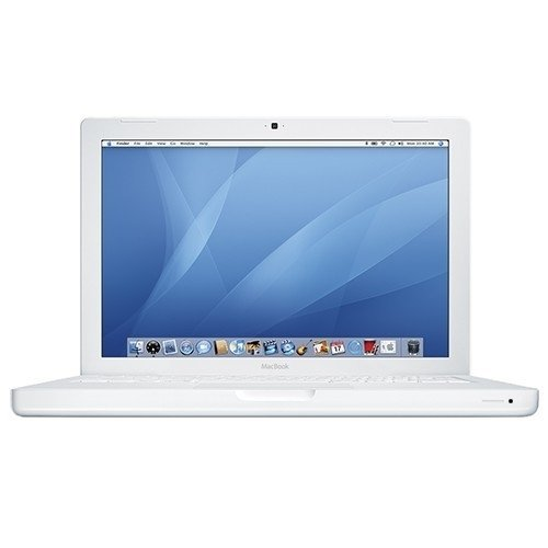 Apple MacBook MB061LLA Intel Core Duo T7200 X2 2GHz 2GB 160GB DVD 13.3in MacOSX ,White(Renewed)