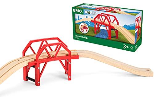 BRIO Bahn 33699 - Bahnbrücke mit Auffahrten,Bunt