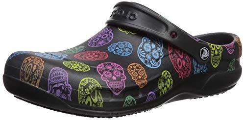 Crocs Unisex-Erwachsene Bistro Graphic U Clogs, Mehrfarbig (Multi/Black 988), 46/47 EU