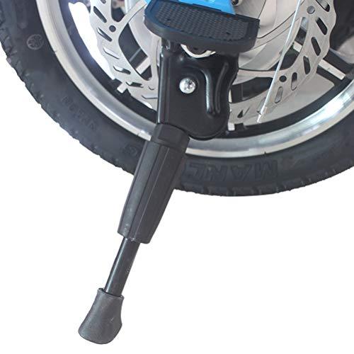 BSTCAR 14 Zoll Kinderfahrrad Ständer, Kids Bike Kickstand Fahrräder Zubehör Fahrradständer Fahrradträger Aus Aluminiumlegierung für Kinderfahrräder/Laufräder/kleine Fahrräder/Kinderfahrräder
