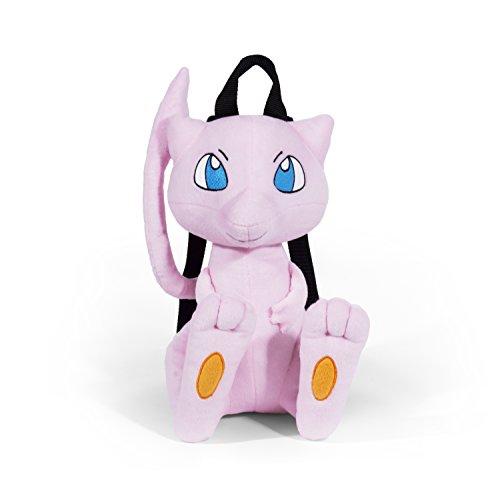 Pokemon Boys' Mew Plush Backpack, Pink