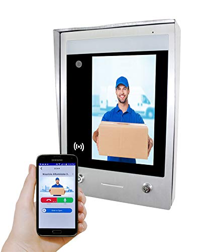 GBF SentryLink Smart Full IP Video Door Station for 2-1000 Units Apartment (Surface Mounted)