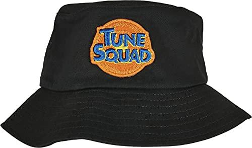 Mister Tee Tune Squad Logo Bucket Hat Gorro/Sombrero, Negro, Talla única Unisex Adulto