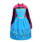 Dressy Daisy Girls Ice Princess Coronation Dress Up Costume Halloween Christmas Party Outfit Size 8-10