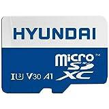 Hyundai 256GB microSDXC UHS-1 Memory Card with Adapter, 95MB/s (U3) 4K Video, Ultra HD, A1, V30 (SDC256GU3)