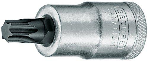 GEDORE Schraubendrehereinsatz Bit Innen-TX, kurz, T50, SW 8,83 mm, 1/2