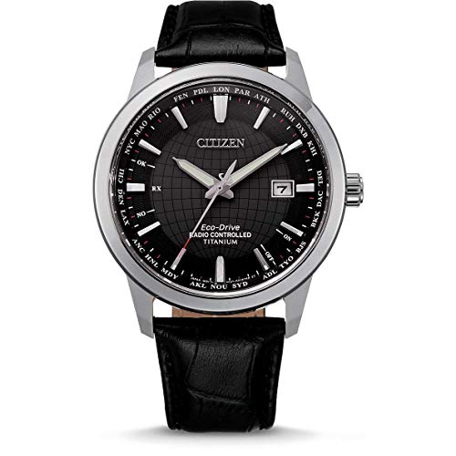 Citizen Eco-Drive CB0190-17E - Reloj controlado por radio para hombre, color negro