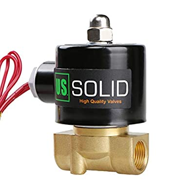 """3/8"""" Electric Solenoid Valve 24VAC Air Water fuel Normally Closed VITON"""