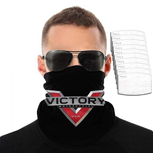 Victory Motorräder Herren Damen Outdoor Sport Winddicht Atmungsaktives Gesichtshandtuch Einheitsgröße Mit 10 Filtern