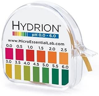 Hydrion S/r Dispenser 0.0-6.0 Ph Range 96 - 15 Ft Roll w/ Color Chart/ Dispenser