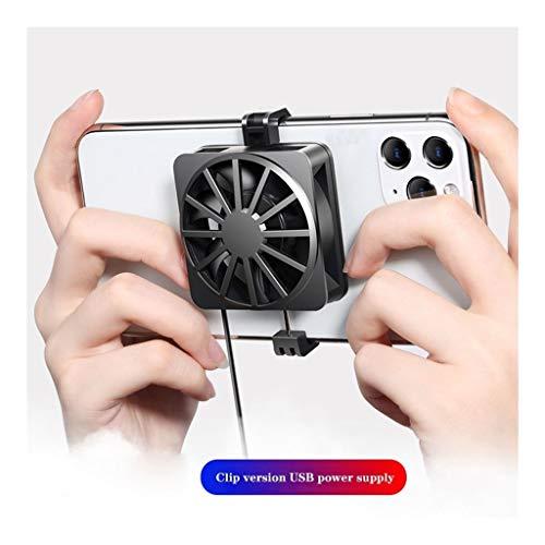 ZWB USB Ventiladores de teléfono, Mini portátil Ventilador de teléfono móvil, Adecuado for Todos los Tipos de teléfonos celulares de 4,5 Pulgadas a 7 Pulgadas, Jugar, Ver vídeos (Color : Style-1)
