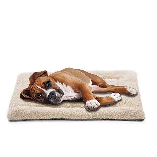 IVENHO Dog Bed Mat Comfortable Soft Crate Pad