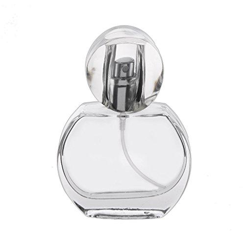 Hellery Verre D'atomiseur De Pulvérisateur en Cristal De Pulvérisateur en Cristal De Charme Rechargeable De La Bouteille 30ml De Parfum